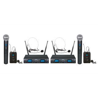 ZZIPP Set Coppia TXZZ622 Radiomicrofono UHF con Borsa da Trasporto Bundle