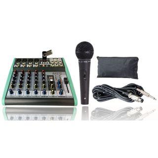 pack verde zzipp Set Mixer Audio 6 Ch