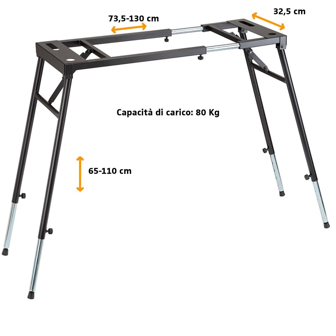 Tavoli Pieghevoli Per Stand.Supporto Per Tastiere Pieghevole Base Tavolo Stand Dj Mixer