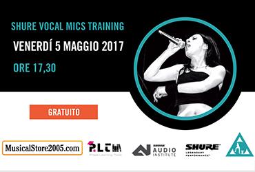 Vocal Mics Training Shure