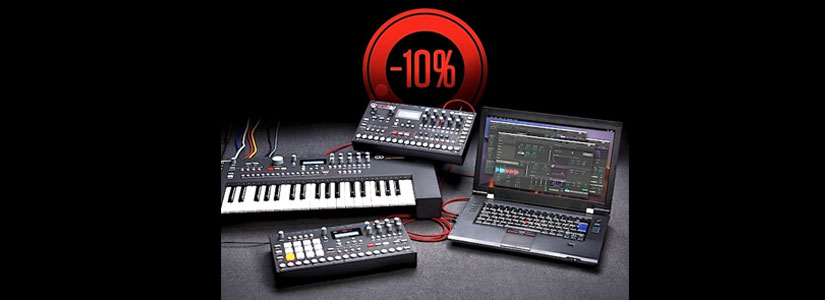 Dal 27/11/15 al 13/12/15 acquista Elektron Analog Keys, Four e Rytm con l'imperdibile sconto del 10%
