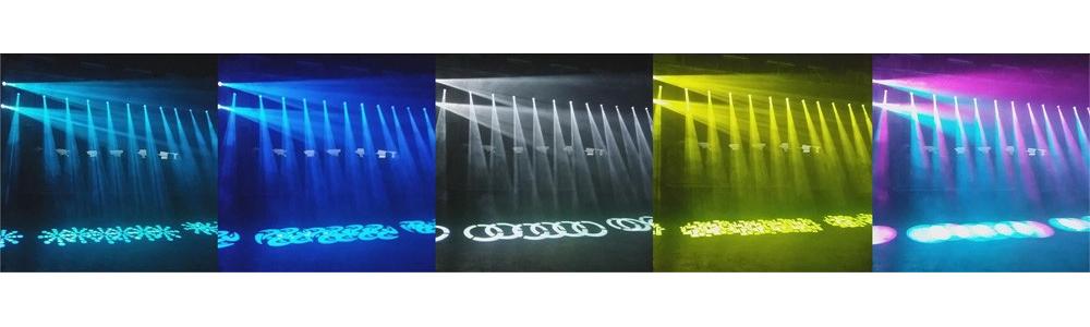 effetto luce testa mobile a led Spot