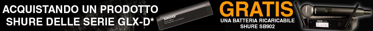 Approfitta della promozione GLXD con batteria ricaricabile in omaggio
