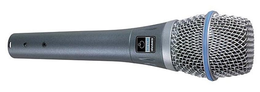 microfono shure beta 87