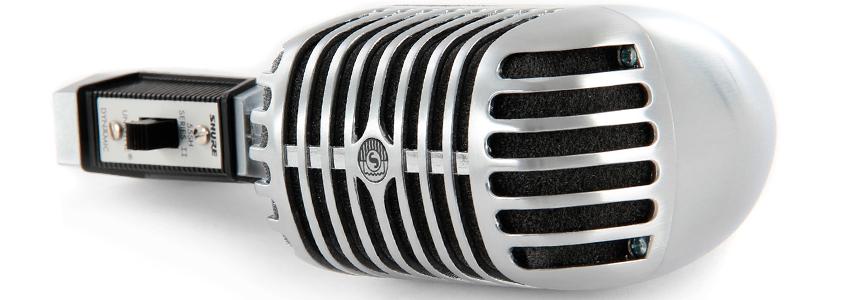 microfono shure 55sh