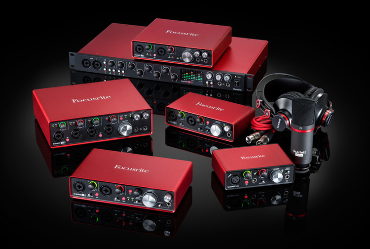 FOCUSRITE 2ND GENERATION