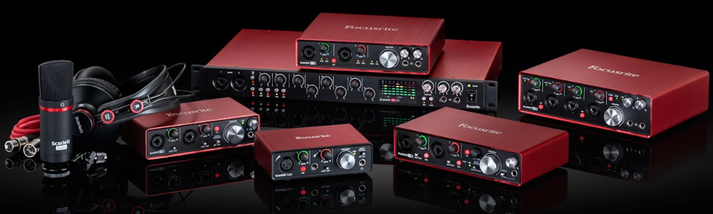 Linea Scarlett Focusrite 2nd generation