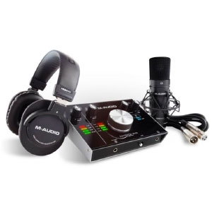 M-Track 2X2 Vocal Studio Pro - Home Studio Recording Pack