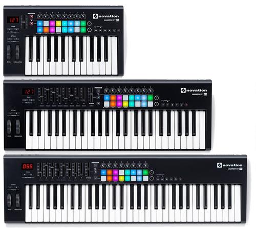 novation launchkey serie mk2 tastiera controller midi usb