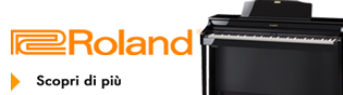 Pianoforte digitale roland