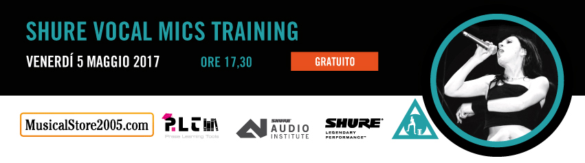 Shure Vocal Mics Training
