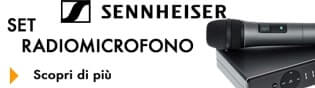 Radiomicrofoni Sennheiser