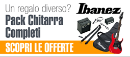 Pack Chitarre Ibanez completi