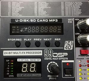 attivazione registrazione mixer zzipp