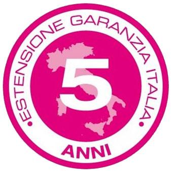 logo garanzia shure 5 anni