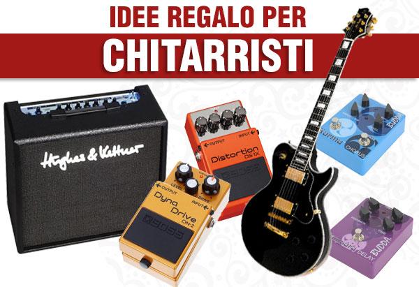 idee regalo per chitarristi e bassisti