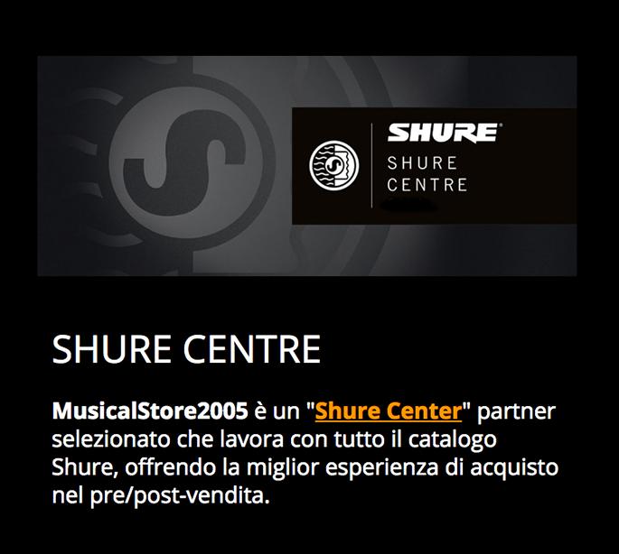 Shure center