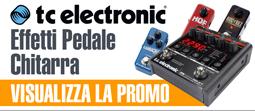 Effetti per chitarre elettriche TC Electronic