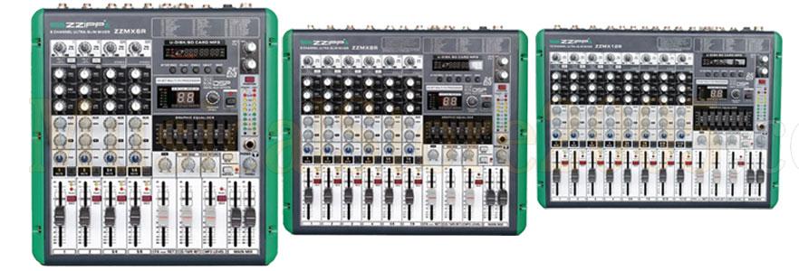 mixer con funzione di registrazione